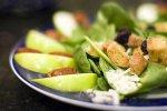 Talerz ze zdrową żywnością